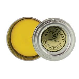 Gilders Paste Wax Canary Yellow GP028