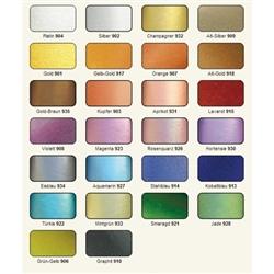 Viva Decor Inka Gold Colour Chart