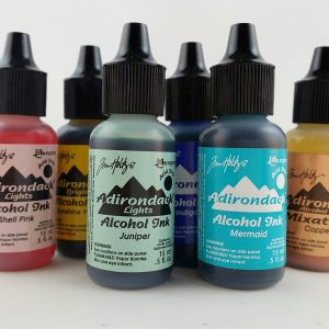 Adirondack Alcohol inks by Tim Holtz at Ranger