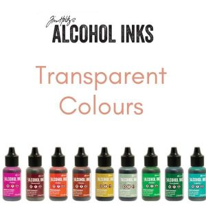 Tim Holtz Alcohol Inks Transparent Colours .5 oz