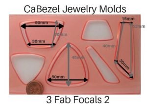 CaBezel Jewelry Molds 3 More Fab Focals 2