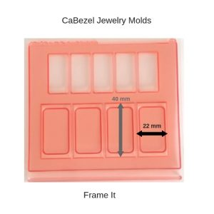 CaBezel Jewelry Molds Frame It