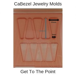 CaBezel Jewelry Molds Get To The Point