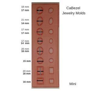 CaBezel Jewelry Molds Mini