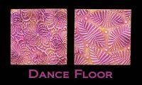 Dance Floor Texture Stamp by Helen Breil