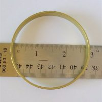 Brass Channel Bangle