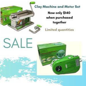 Makin's Clay Machine and Motor Sale