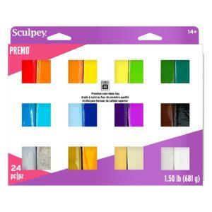 Premo Multi Pack 24 Colours
