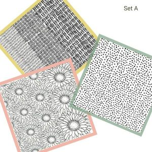 Texture Stamp Set A (3pcs)