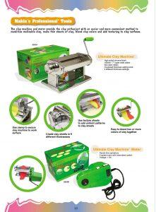 Makin's Clay Machine and motor
