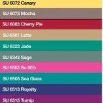 Souffle Colour Chart