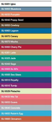 Souffle Colour Chart
