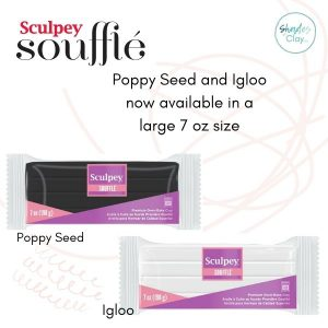 Igloo and Poppy Seed Souffle available in a large 7 oz size