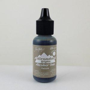 Pebble Adirondack Alcohol Ink