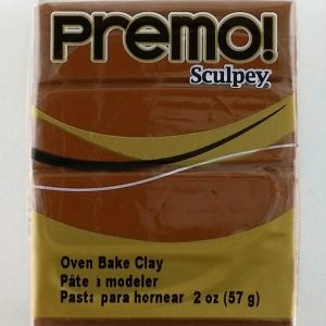 Raw Sienna Premo Polymer Clay 2oz