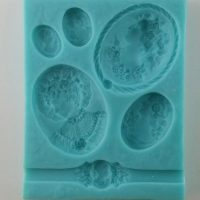 Cameos Mold by Best Flexible Molds
