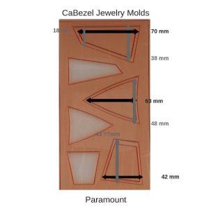 CaBezel Jewelry Molds Paramount