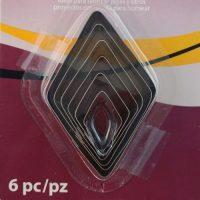 Diamond Cutter Set by Premo 6 piece