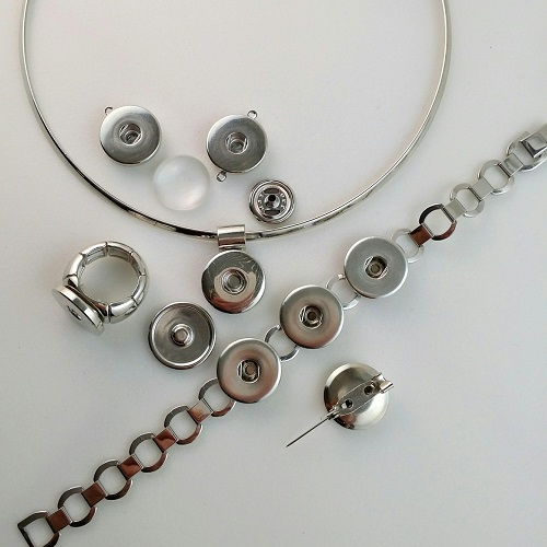 Snap Jewelry Components