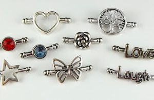 Softglass Joiner Charms Image by Carolyn Good