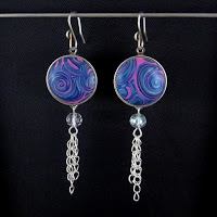 SNAP Earrings dangle by Carolyn Good