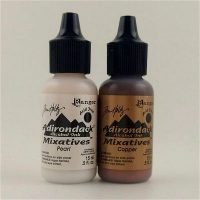 Pearl/Copper Mixative Set of Adirondack alcohols Inks by Ranger/Tim Holtz