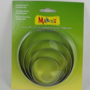 Large Circle Cutters Set by Makin's