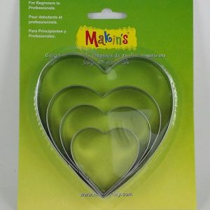 Large Heart Cutters Set by Makin's