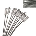 Clear Cable Necklace 10 pack