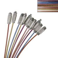 Assorted Colours Cable Necklace