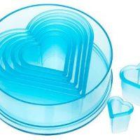 Heart Cutter Set 7pc