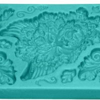 Green Man Flexible Rubber Mold