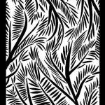 Postcard from Bali Helen Breil Silk Screen