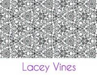 Lacey Vines Silk Screen Stencil