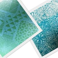 TEXTURE STAMPS-SILK SCREENS- STENCILS