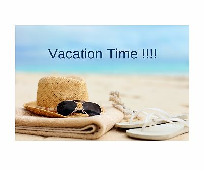 Vacation Time!!!
