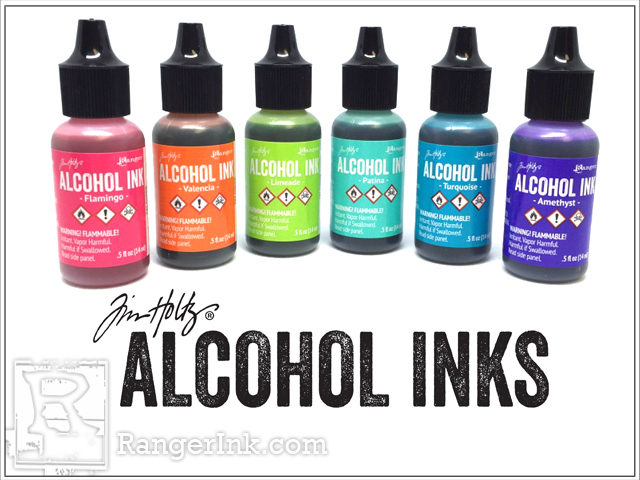 New Adirondack Alcohol Ink Colours