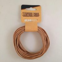 Leather Cord Natural