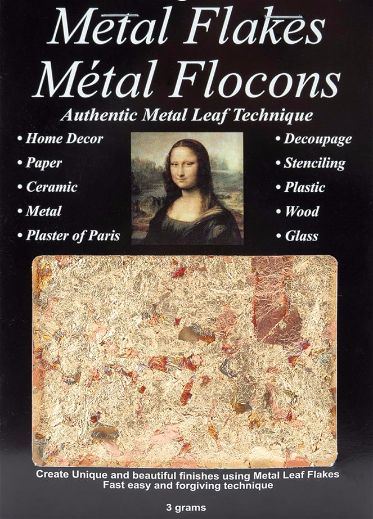 Mona Lisa Metal Flakes