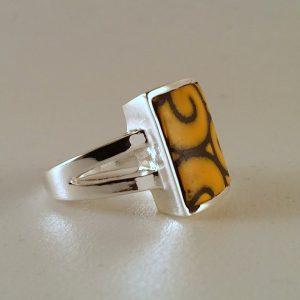 Rectangle Bezel Ring