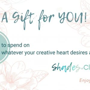 Gift Certificate Just for YOU!