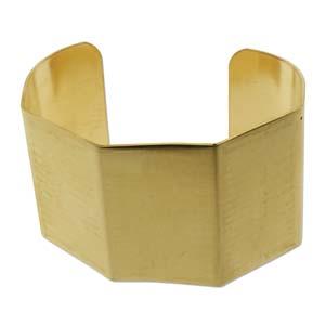 "Brass Cuff Bracelet 1.5"""