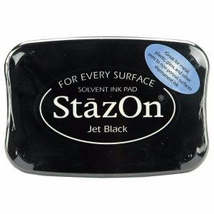 StazOn Ink Pad Jet Black-