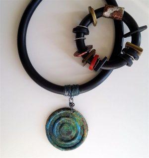 "1/2"" Buna Cord samples by Wendy Orlowski"
