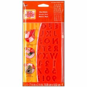 Plaid Mod Podge Mold Alphabet