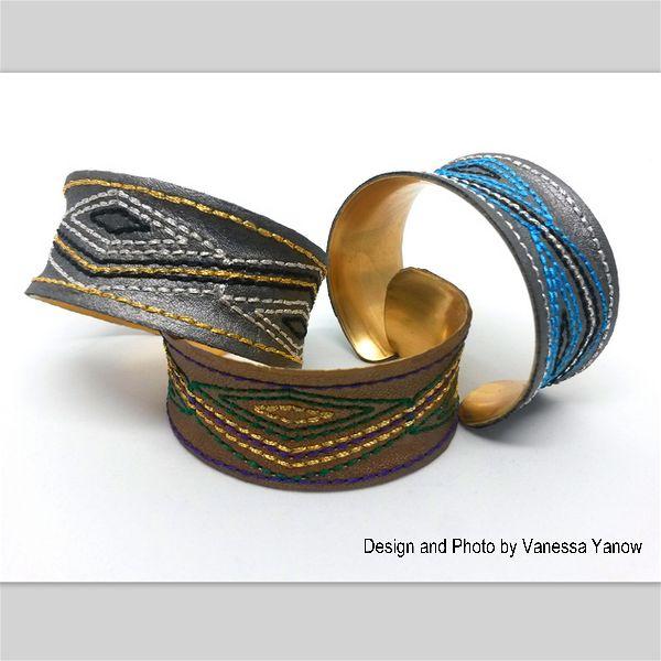 Cuff Bracelets by Vanessa Yanow