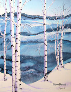 winter-solitude-diane-marcott-alcohol-ink
