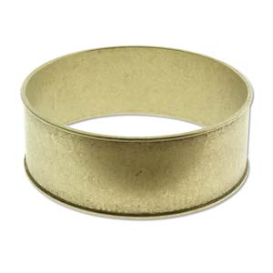 Brass Channel Bracelt 1 inch