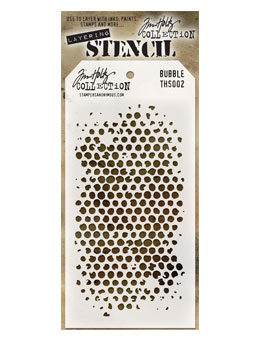 Bubble Stencil-Tim Holtz