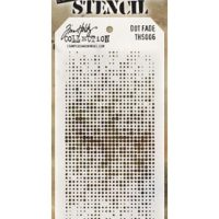 Dot Fade Stencil by Tim holtz